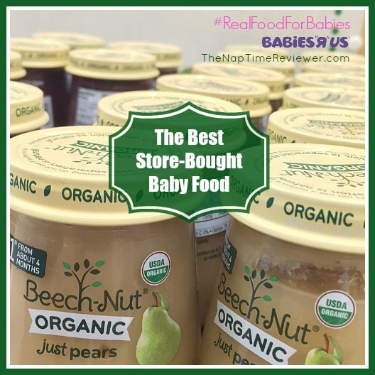 The Best Store-Bought Baby Food | #RealFoodForBabies #IC #AD