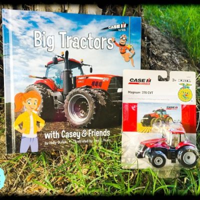 Casey and Friends: Big Tractors + Giveaway