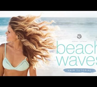 Beach Waves Hair Tutorial!