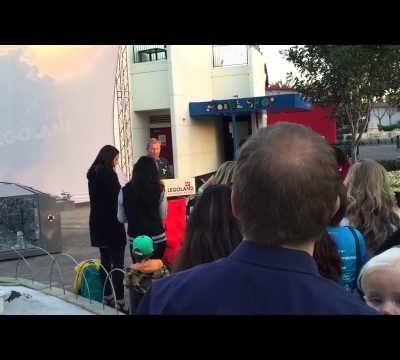 Legoland, California – Star Wars Death Star Unveiling Event