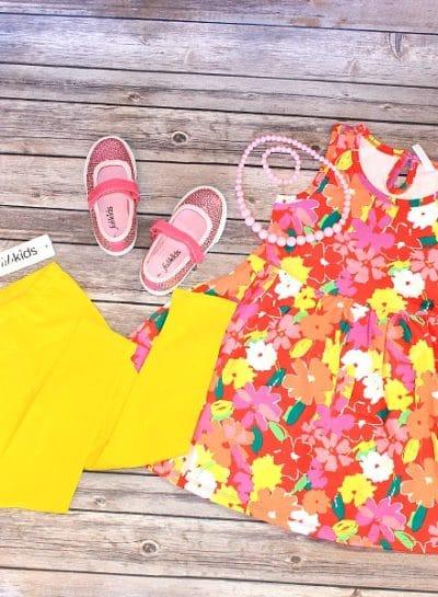 Summer Vacation Kids Outfit Idea   #FabItForward