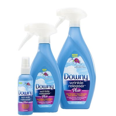 Wrinkle Free Travel | Downy Wrinkle Releaser Plus