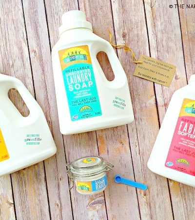Eco Friendly Refillable Laundry Products | MyGreenFills