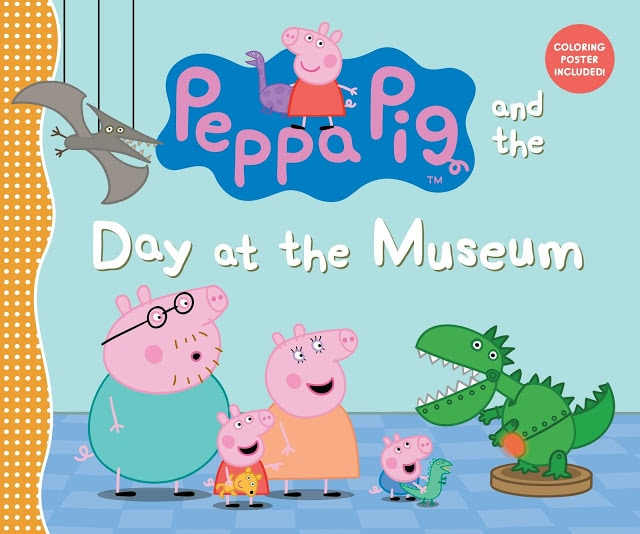 Peppa Pig and the Day at the Museum Book