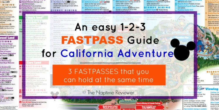 California Adventure Rides and FASTPASS Guide