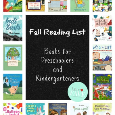 Fall Reading List: Books for Preschoolers and Kindergarteners