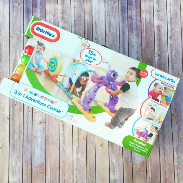 Little Tikes Lil Ocean Explorers 3 In 1 Adventure Course