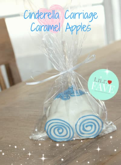 Cinderella-Themed First Birthday Party | Pumpkin Carriage Caramel Apples