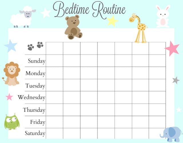 photo relating to Bedtime Routine Chart Printable titled Marketing consultant for Profitable Bedtime Program Employing Elo Pillow - Absolutely free