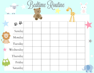 Guide for Effective Bedtime Routine Using Elo Pillow – Free Bedtime Routine Chart plus a Giveaway
