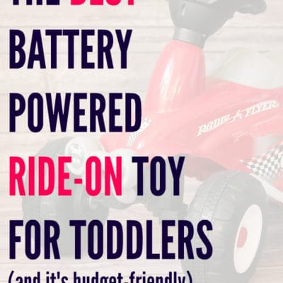The Best Battery Powered Ride-On Toy for Toddlers – Radio Flyer