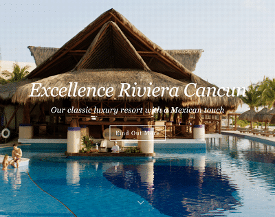 Excellence Riviera Cancun Adults Only Resort – Fully Renovated