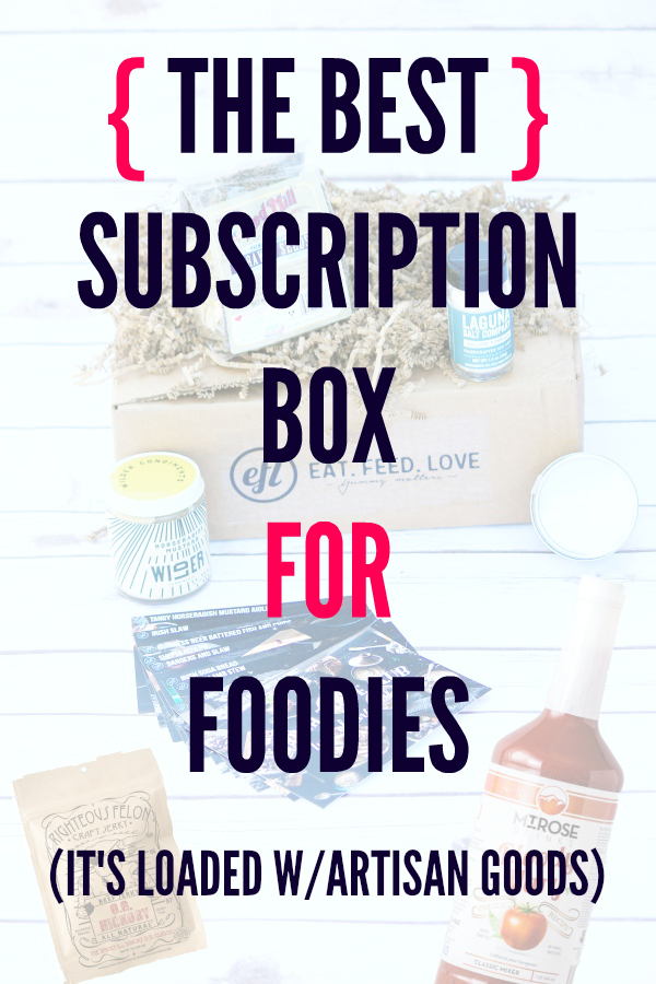 The Best Subscription Box for Foodies