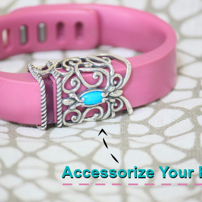 FitBit Charms from Carolyn Pollack Sterling Jewelry