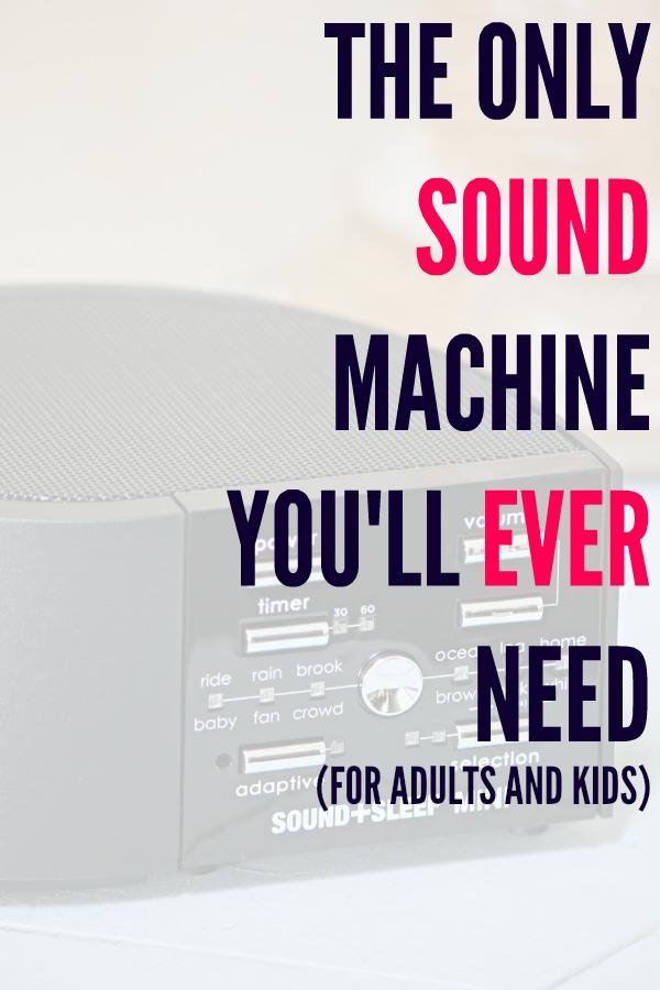 sleep sound machine reviews