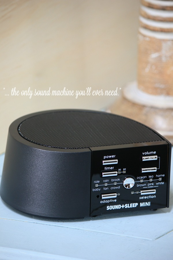 Sound Sleep Mini Sound Machine Review And Giveaway The