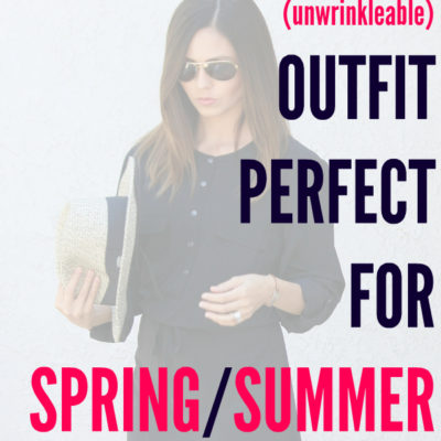 Packable (Unwrinkleable) Outfit Perfect for Spring/Summer Travel + Orvis Promo Code