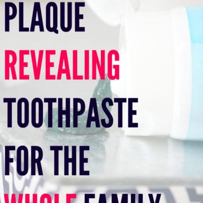 Plaque Revealing Toothpaste – Plaque HD