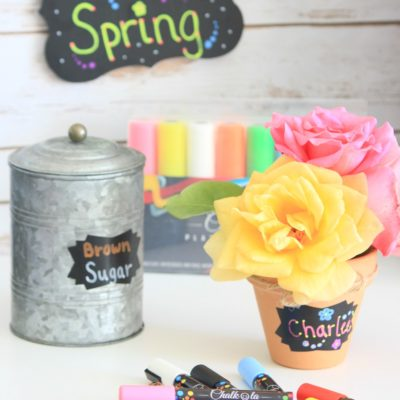 Springy Home Updates with Chalkola Chalk Markers