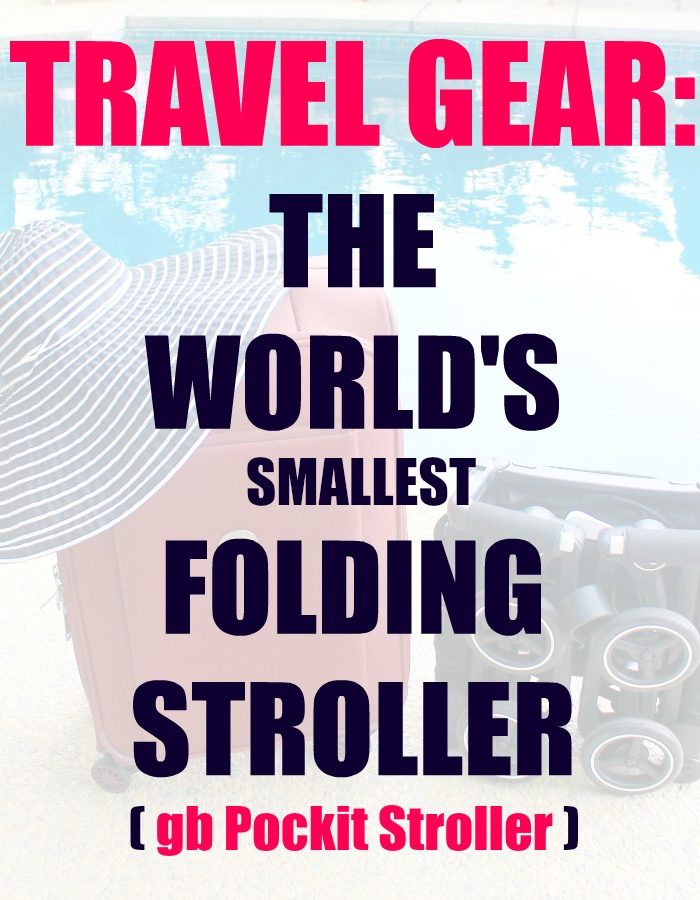 Travel Gear: gb Pockit Stroller Review