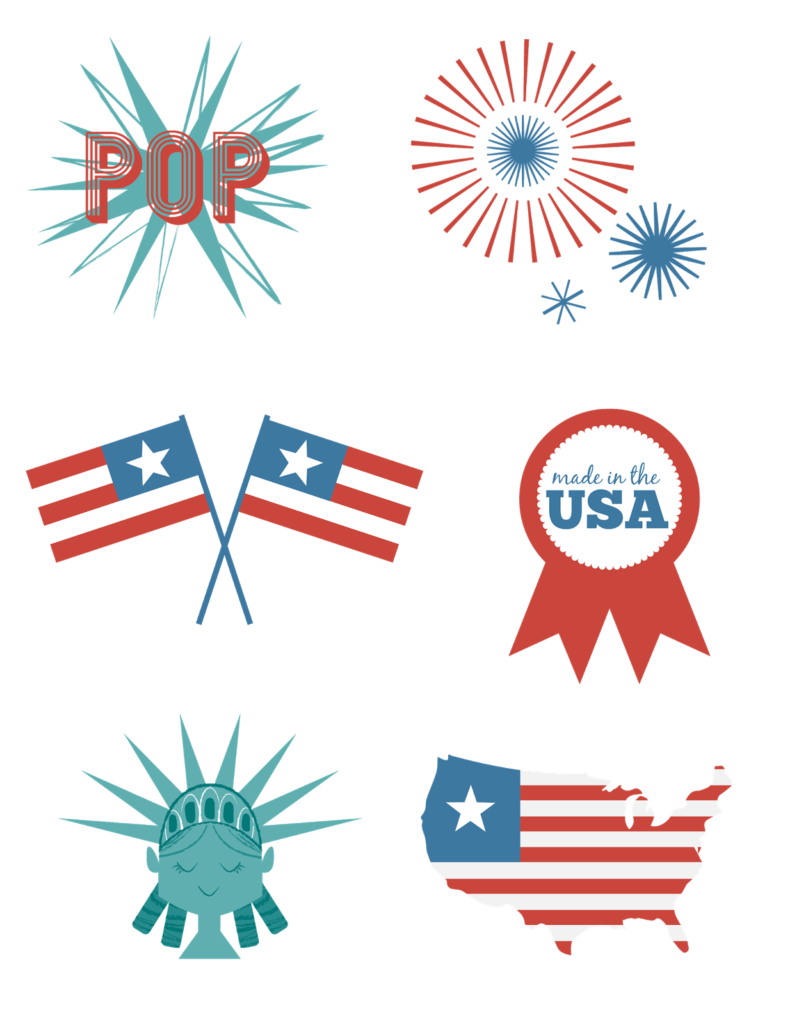 Fourth of July Printables - Free