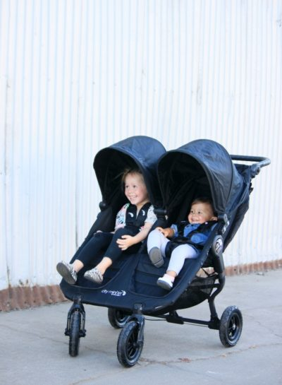 The Baby Jogger City Mini GT Double Stroller