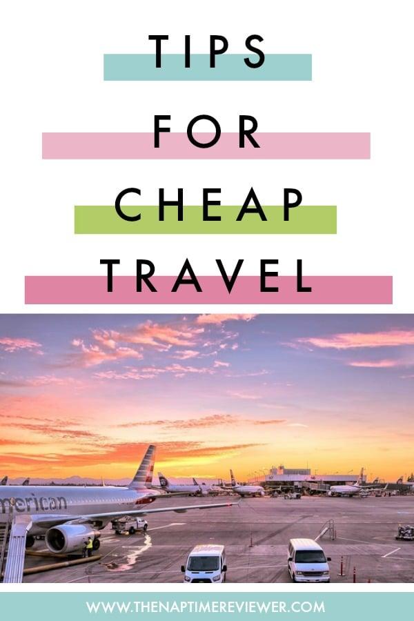 Cheap Travel Tips