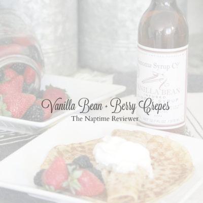 Vanilla Bean Berry Crepes