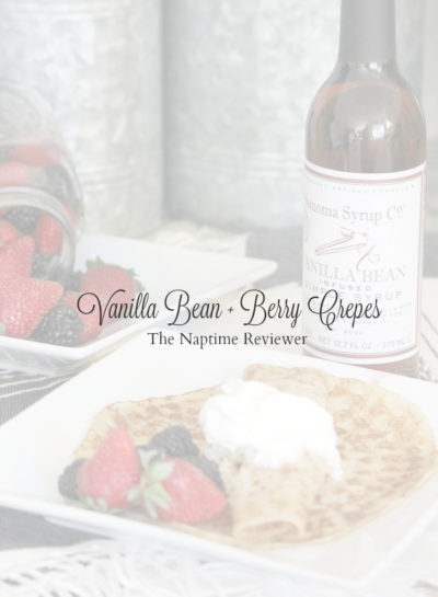 Vanilla Bean Berry Crepes