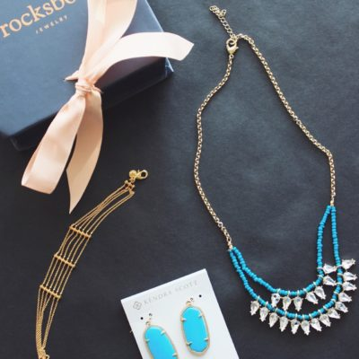 Turquoise and Gold Jewelry + Rocksbox Promo Code