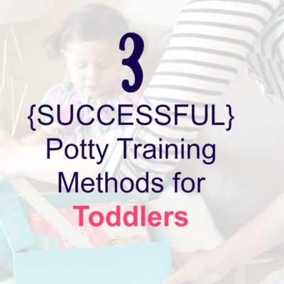 3 Potty Training Methods for Toddlers