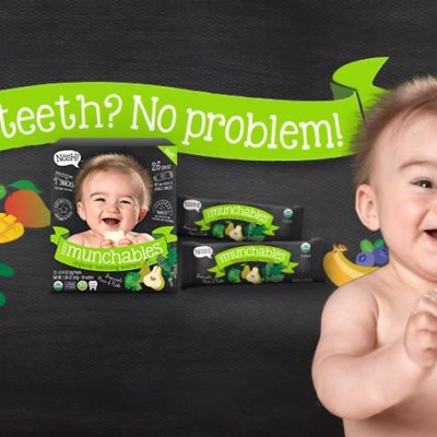Nosh! Munchables – Organic Teething Wafers GIVEAWAY