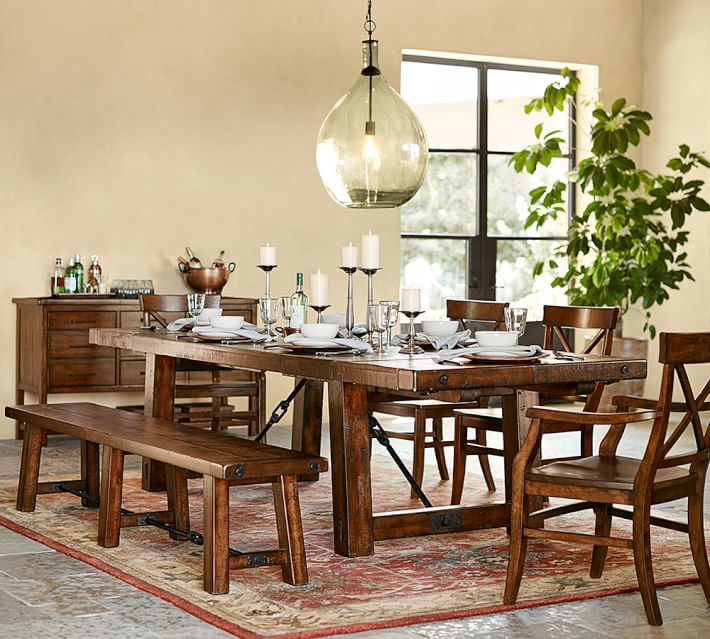 small space dining area