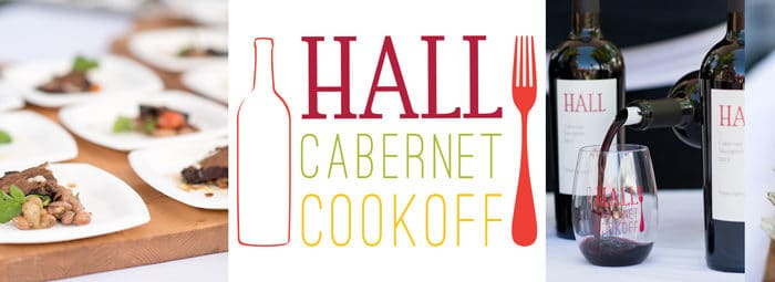 YOU'RE INVITED: HALL's Cabernet Cookoff, St. Helena – Saturday April 29, 2017 | Pop a Corn & Grab Your Fork