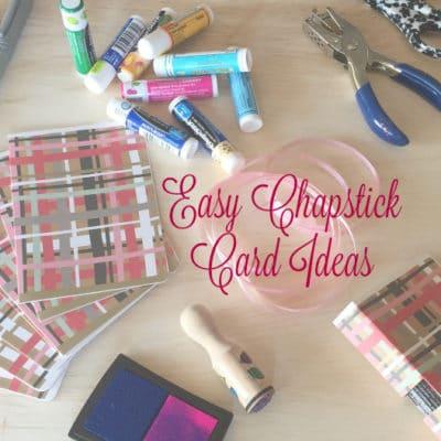 DIY Chapstick Valentine's Card | Teacher Gift Ideas