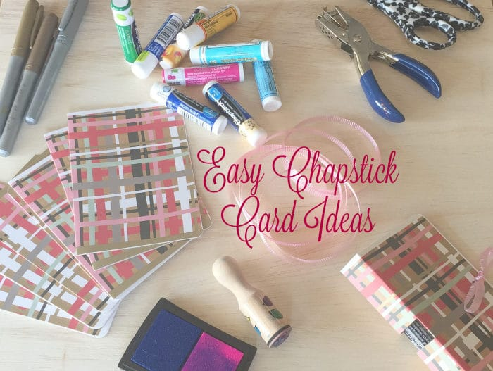 DIY Chapstick Valentine's Card | Teacher Gift Ideas