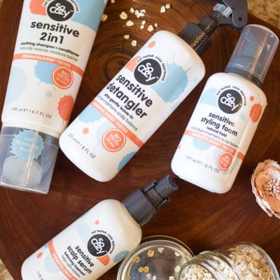 SoCozy Kids HUSH Hair Care Collection + Ingredients to Avoid for Sensitive Skin