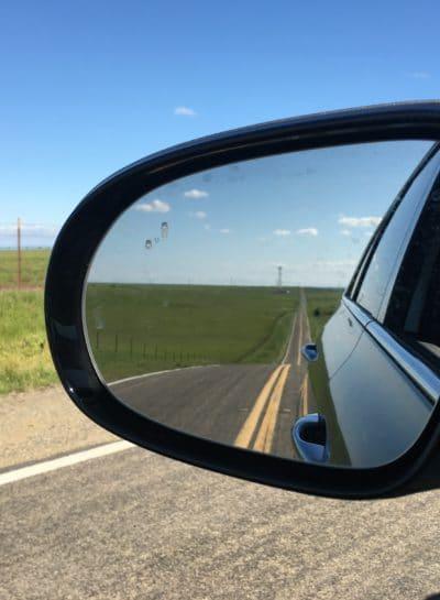 car safety mirror
