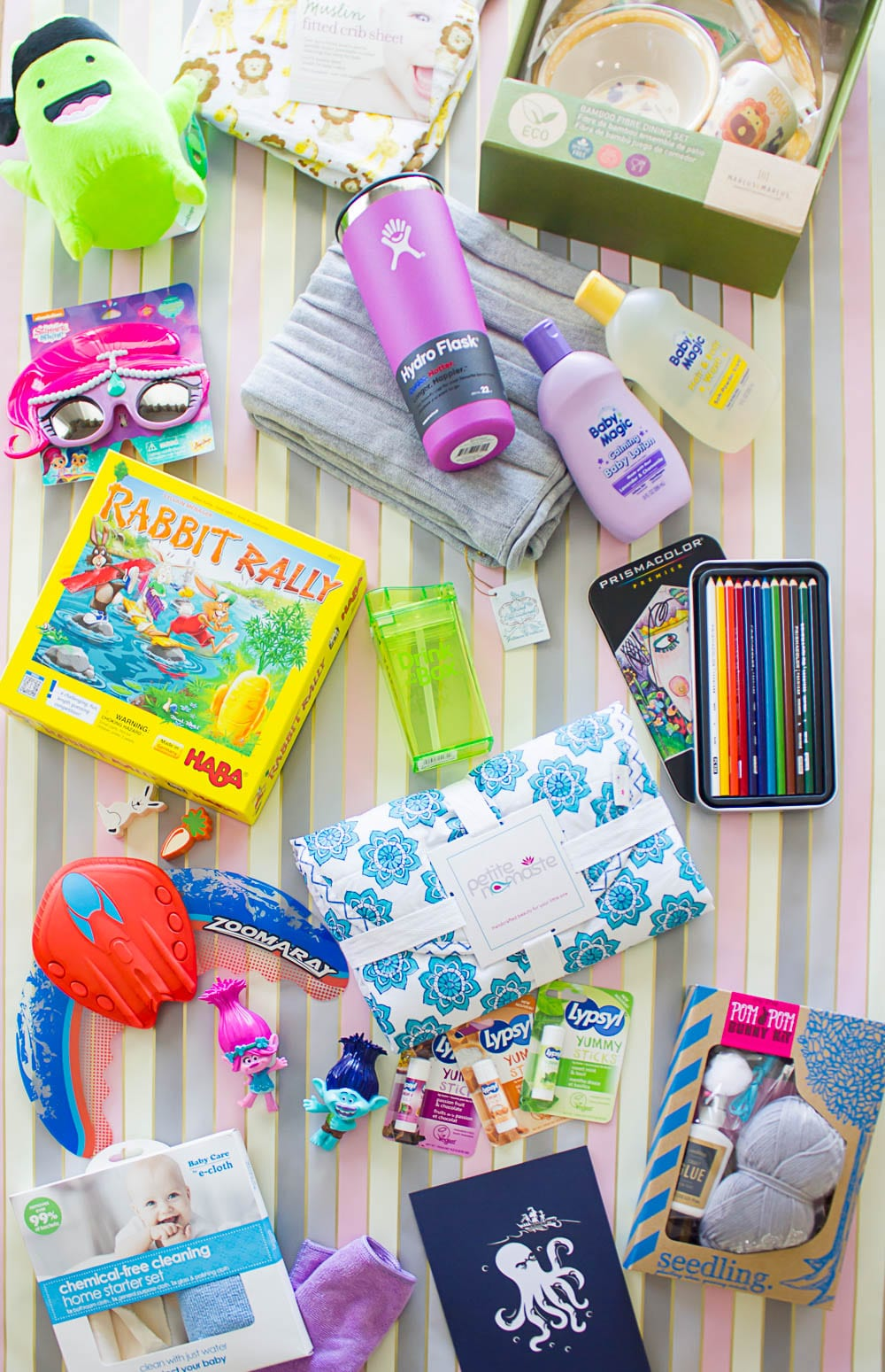 Non candy easter basket ideas the naptime reviewer easter non candy flatlay negle Gallery