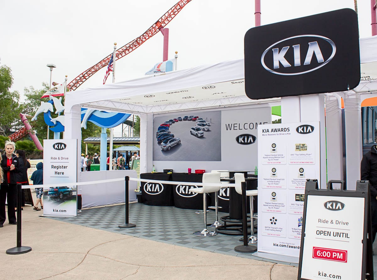 Kia Ride and Drive Six Flags