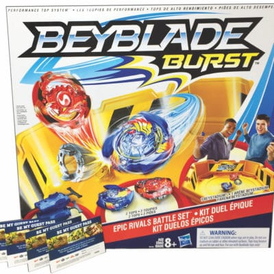 Beyblade Burst Family Night – Dinner and Game Giveaway