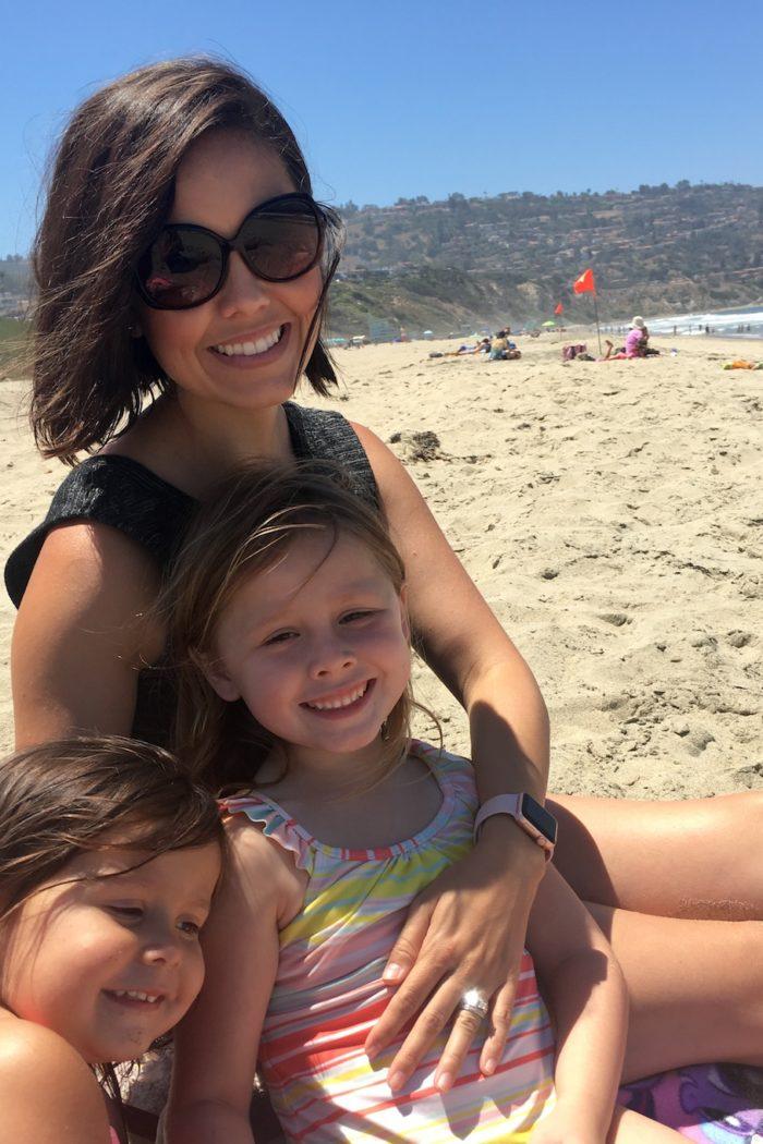 Using Baby Powder at the Beach