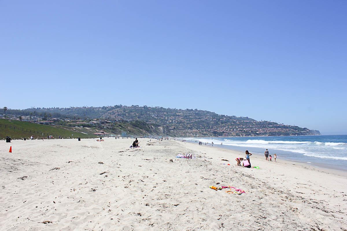 Torrance Beach in California
