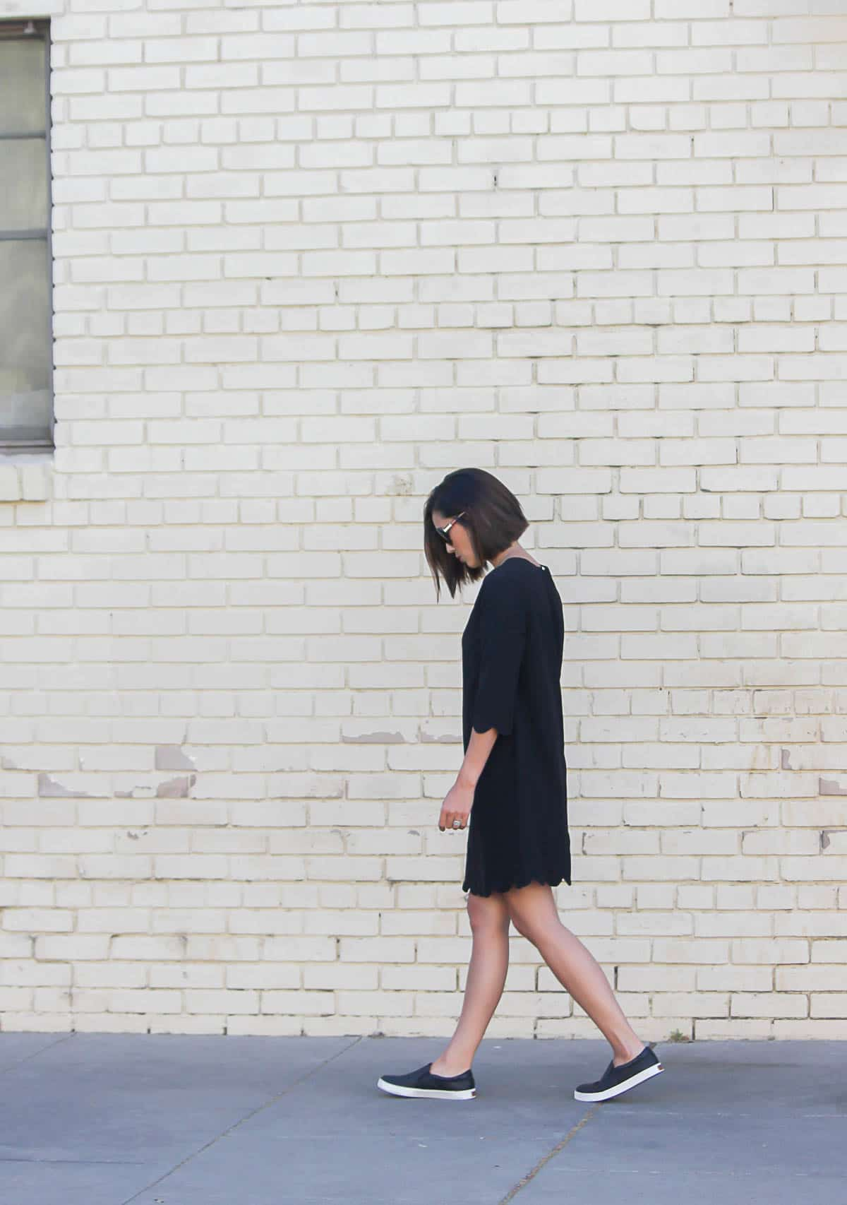 LBD with Sneakers
