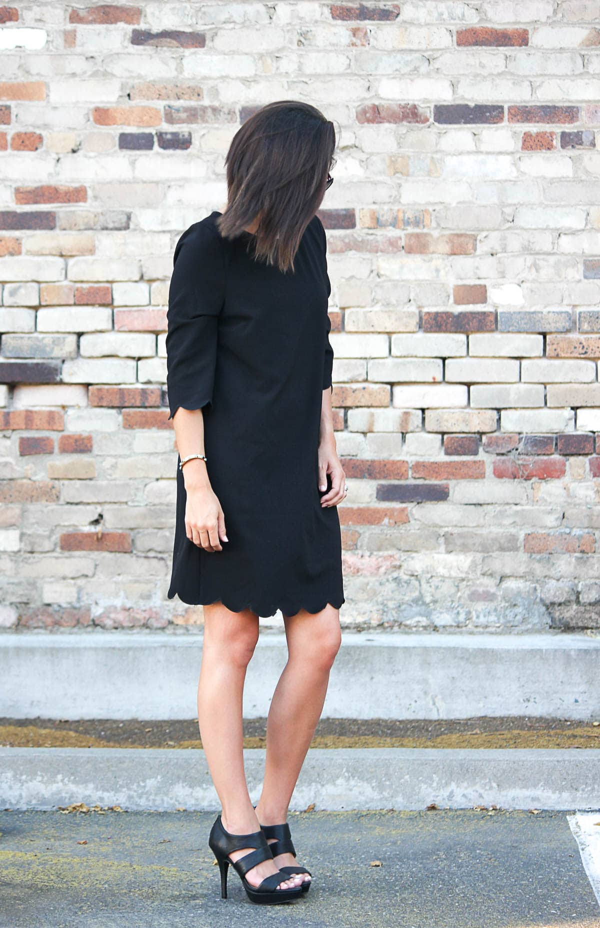 LBD with Heels - Classic Look - TObi.com