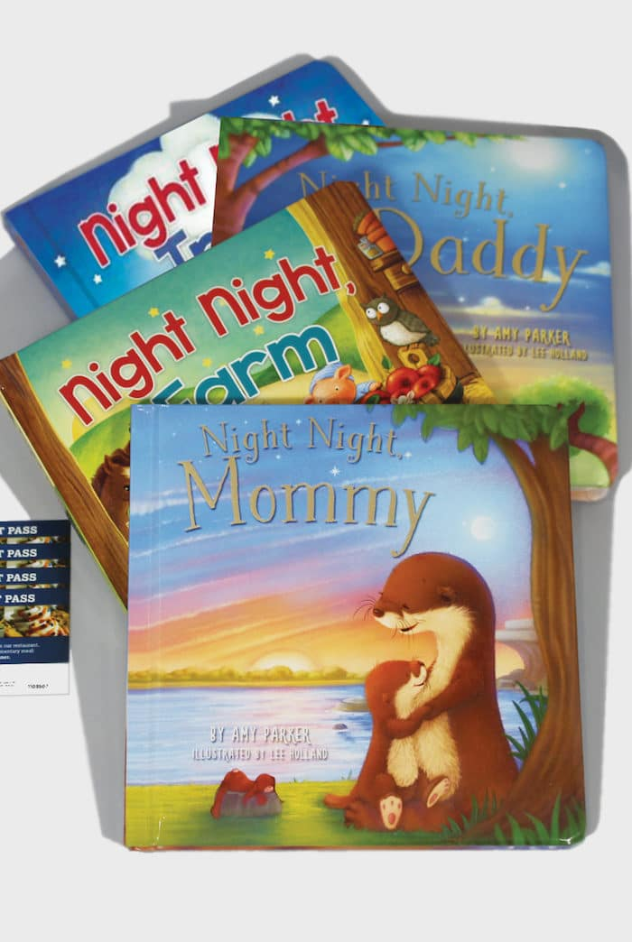 Night Night Book Series/Family Night Giveaway