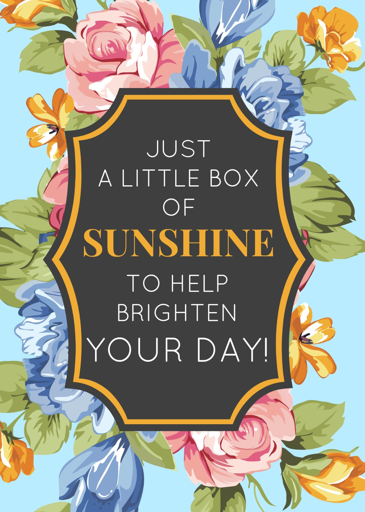 5 Ideas For A Box Of Sunshine The Naptime Reviewer