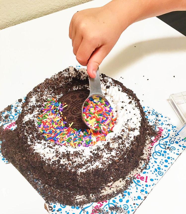 DIY: Semi-Homemade Ice Cream Cake (Because we can't be great at EVERYTHING)