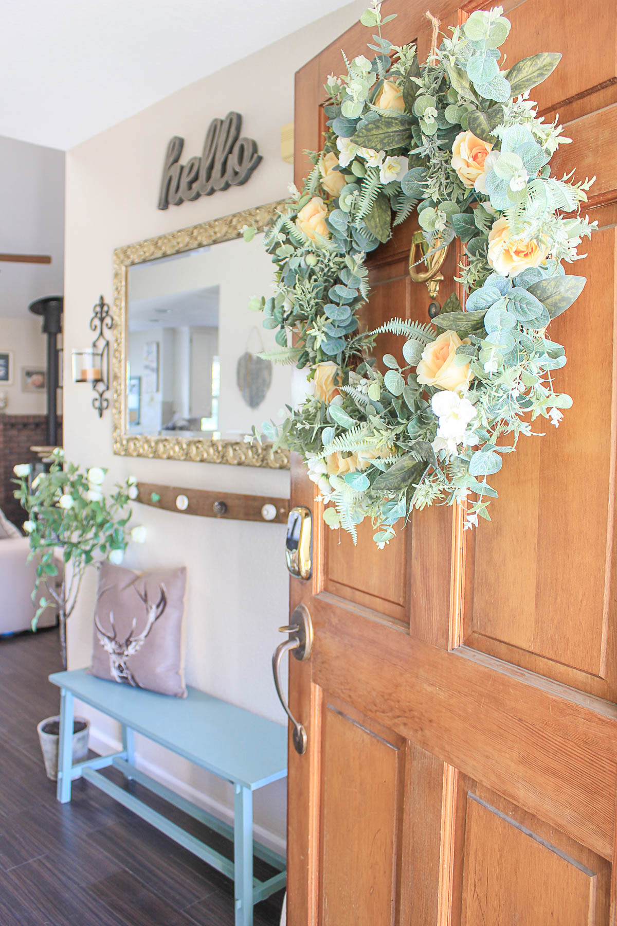 french country home decor ideas entry way