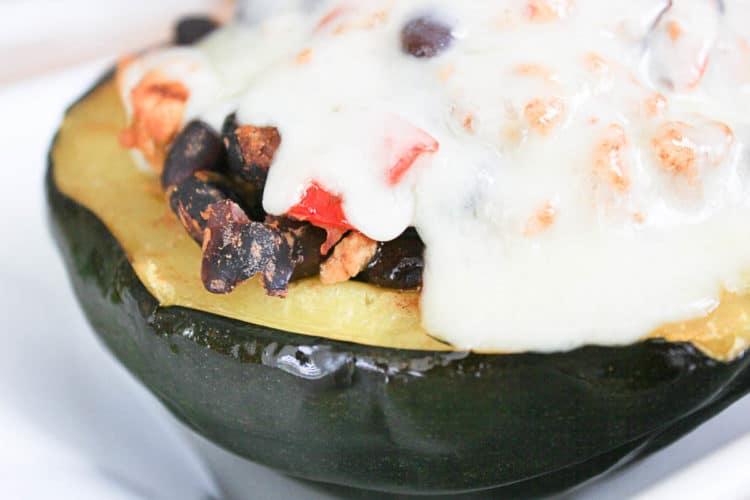 Southwestern Stuffed Acorn Squash Recipe